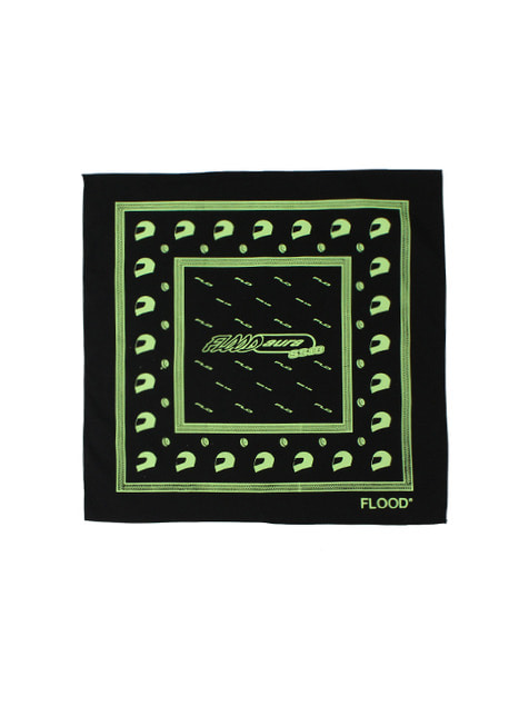 FLOOD SS18 RACING BANDANA / BLACK